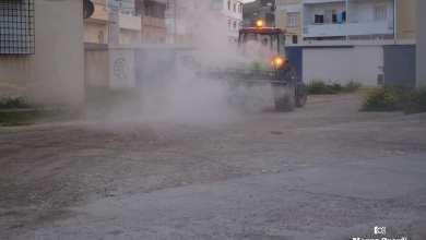 Photo of ولاية بنزرت: انطلاق عمليات التعقيم