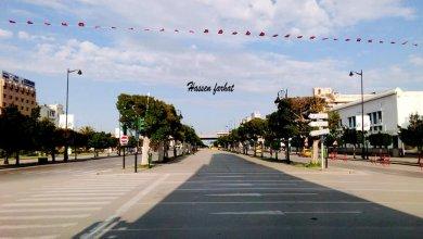 صورة صورة اليوم: تونس العاصمة في الحجر الصحي