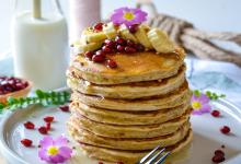 Photo of Pancakes banane sans sucres ni matières grasses ajoutés