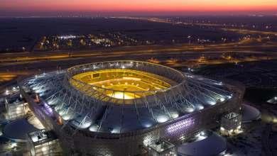 صورة تواصل أعمال البناء في استادات بطولة كأس العالم FIFA