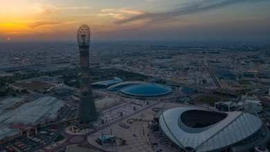 صورة ملعب خليفة الدولي  بطاقة استعابية  40 ألف مشجع