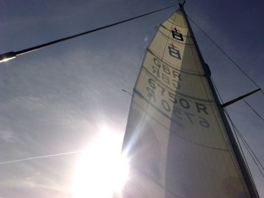 New Vectran laminate mainsail