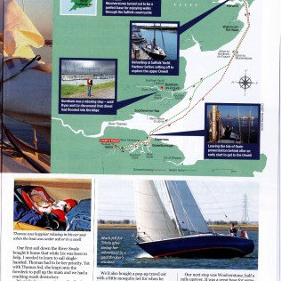 Thomas being famous in Yachting Monthly Page 2