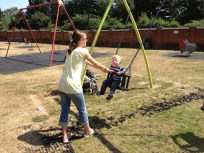 The only thing a place needs to be good - swings!