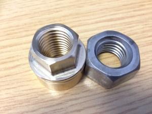Flexofold nut on the left