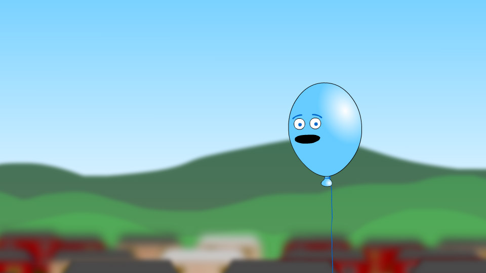 Lonely Blue Balloon  Flash Videos