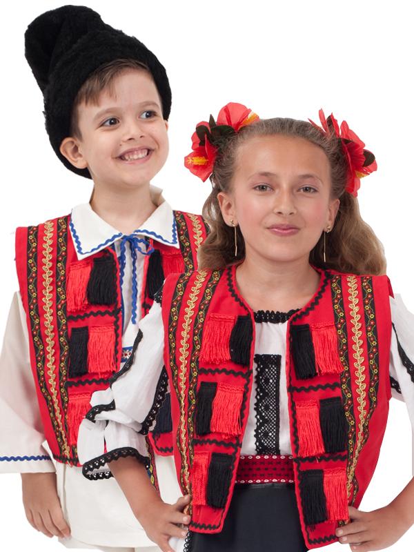 costume populare românești pentru copii
