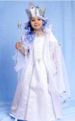 costum Crăiasa Zăpezii