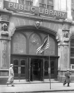 library.entrance
