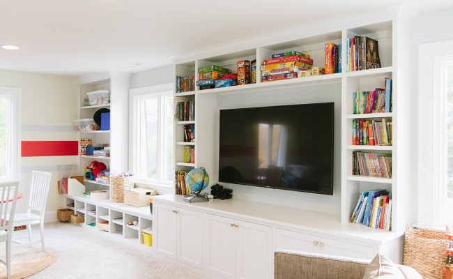Playroom Albion Cabinets Stairs