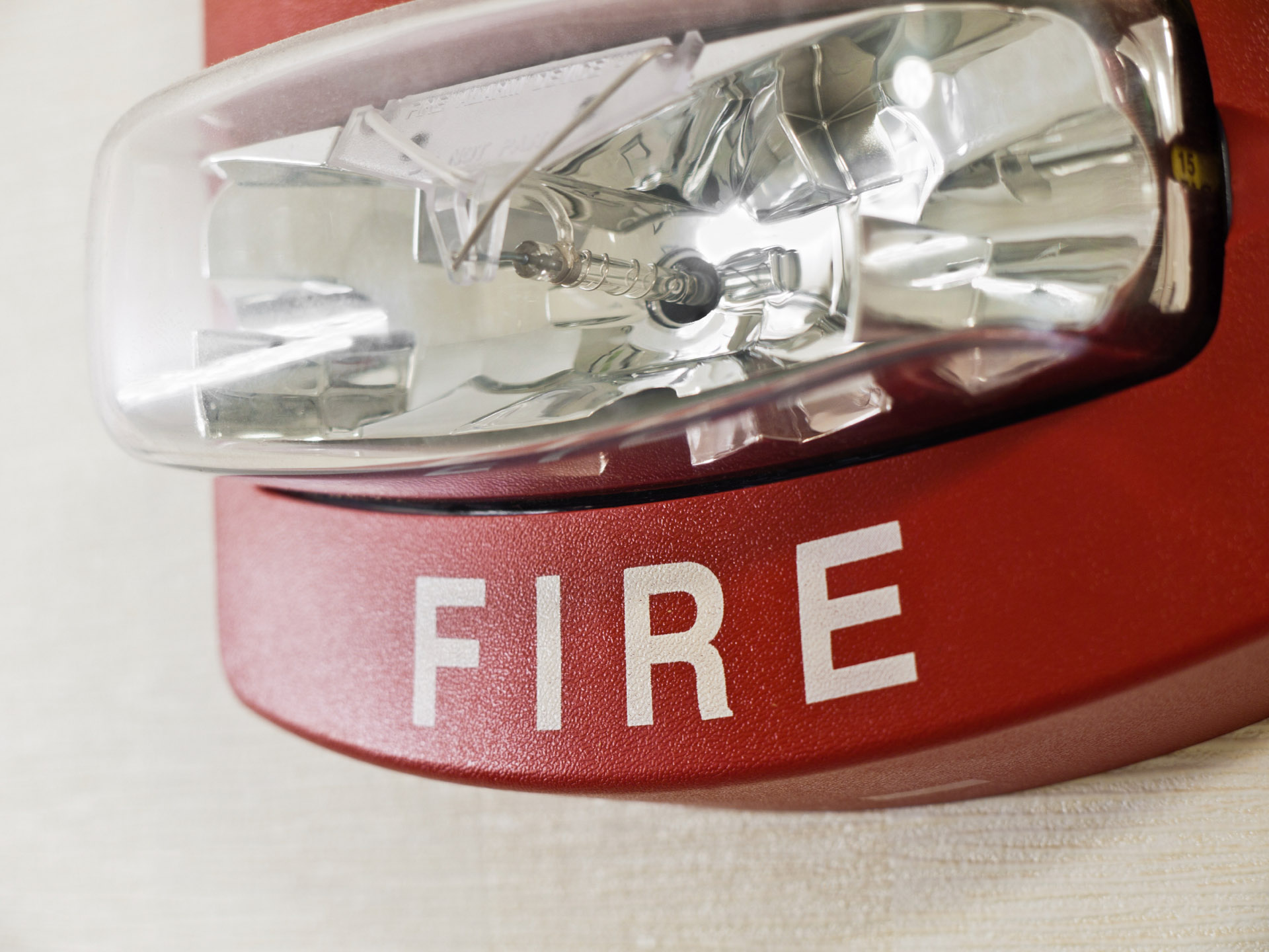 Fire and Safety System fire detector