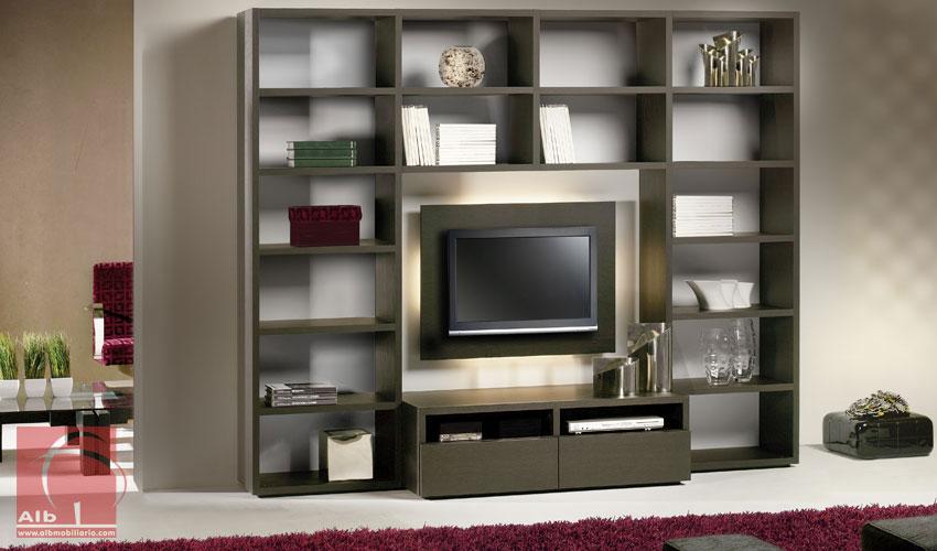 sofas modernos para sala de tv sofa wayfair mueble salón - | muebles el televisor led ...