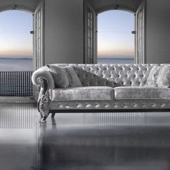 Chesterfield Sofa London Second Hand Angled Wooden Legs Traditional Fabric 1006 7 Alb Mobiliario E