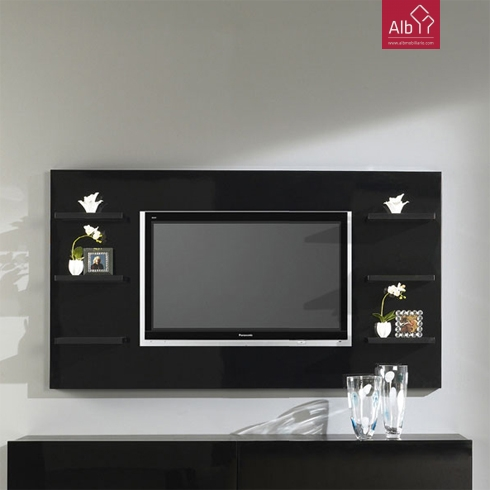 corner tv living room ideas black white and gray | modern minimalist furniture - alb ...