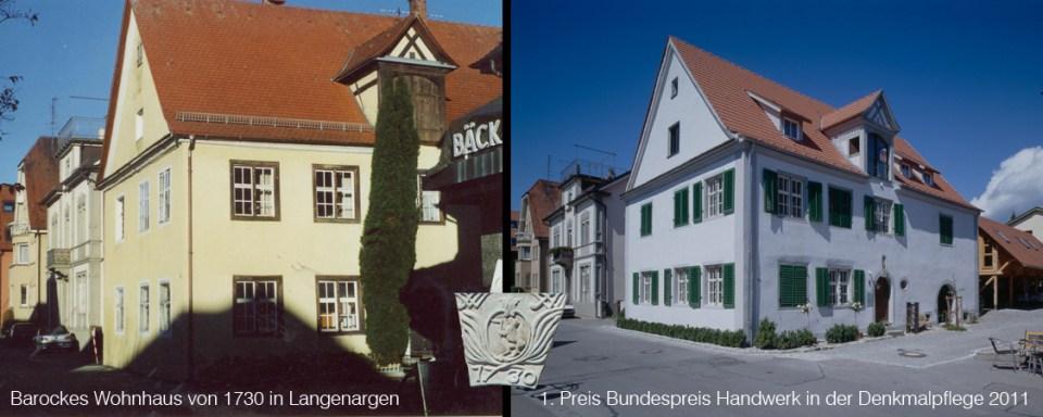 Sanierung, Baudenkmal, Bundespreis Handwerk in der Denkmalpflege