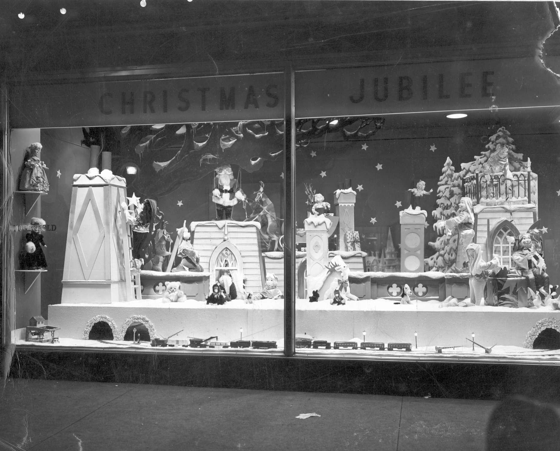Scranton Christmas Windows 1938