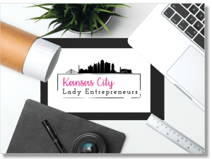 kansas city lady entrepreneur logo
