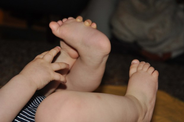Baby feet and hands!