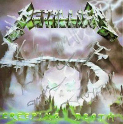 Metallica Creeping Death (1984) single