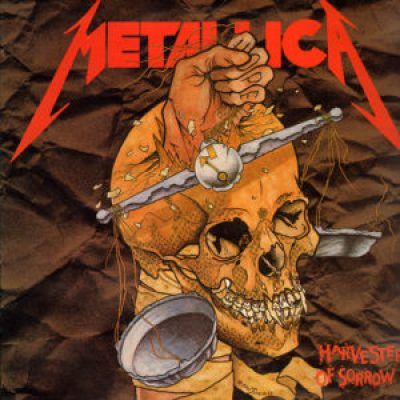 Metallica Harvester Of Sorrow (1988) single