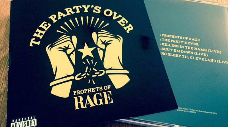 The Party's Over (2016) Prophets of Rage