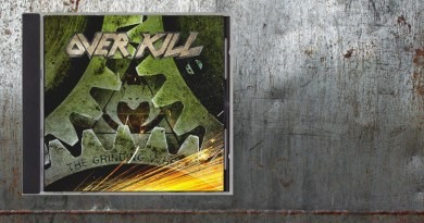 "Overkill ""The Grinding Wheel"" (2017), www.albumsthatrock.com"