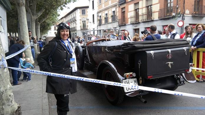 """La """"Ruta Coches de época"""" recala en Alcalá"""