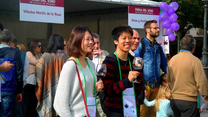 II edición de la Feria del Vino en Alcalá