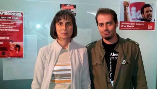 David Cobo y Ana Fernández