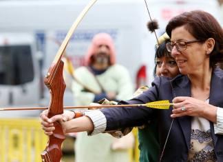 Maria Aranguren , concejala de Cultura