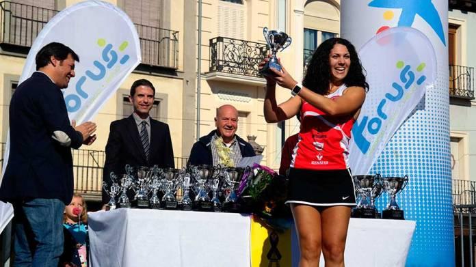 Entrega de trofeos de la XVI Carrera Grutear contra las adiciones