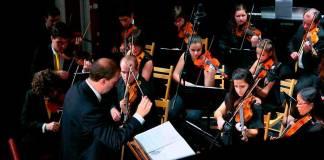 una orquesta de cine