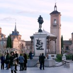 La Plaza de Cervantes sin pancartas