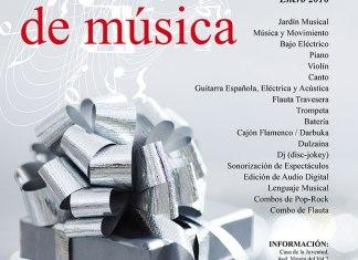 Cartel del Taller de Música