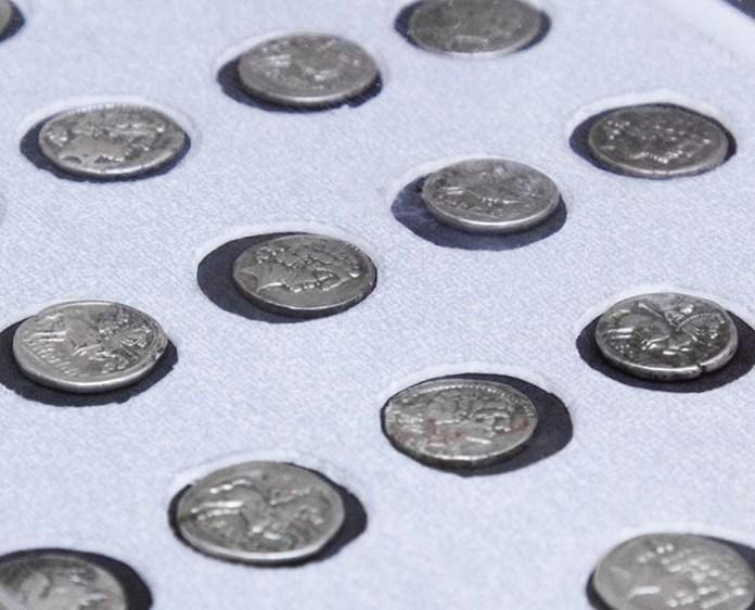 Donación de 30 denarios de plata