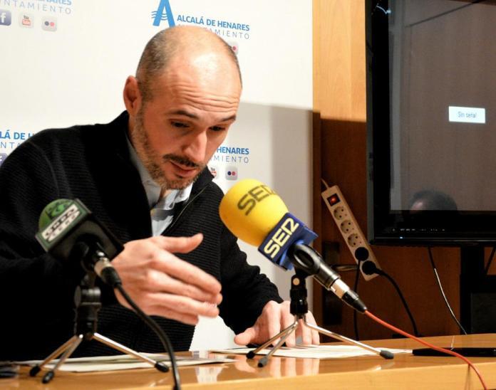 Alberto Egido, concejal de Alcalá de Henares