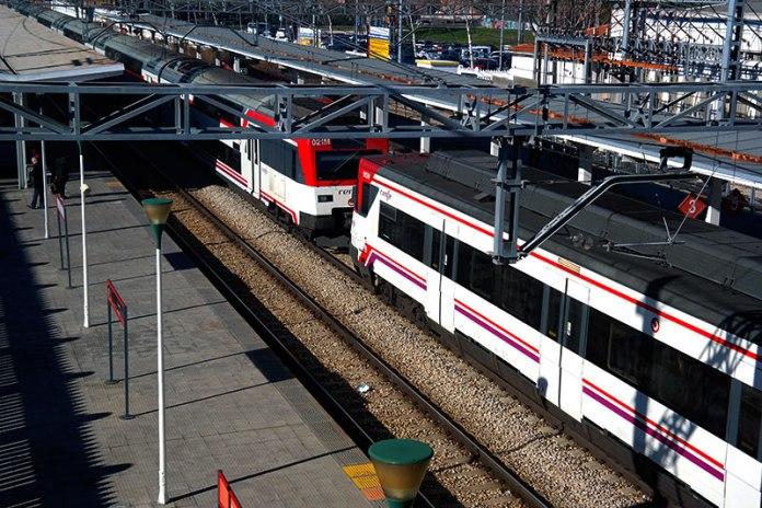 Estación de cercanias de Alcalá de Henares