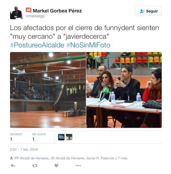 El PSOE a la gresca con el PP por un tuit de Markel Gorbea