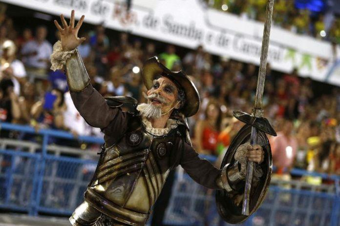 Don Quijote en el Carnaval de Rio