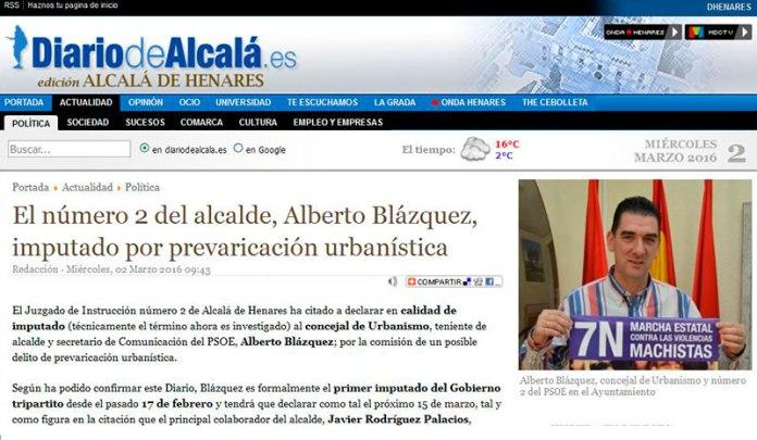 Diario de Alcalá, 2 de marzo 2016