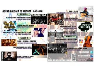 Agenda musical de Alcalá de Henares