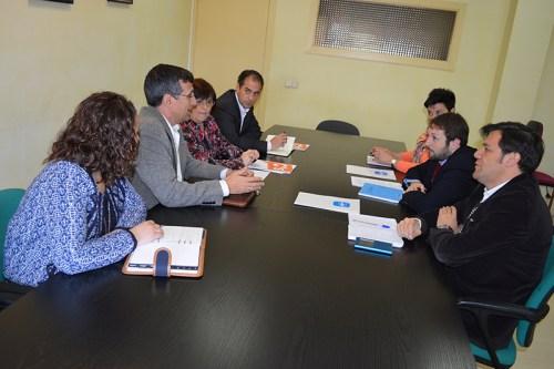 Reunión Ciudadanos-PP en Alcalá de Henares .