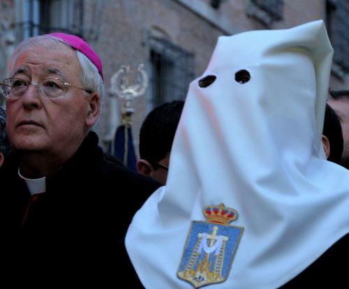 Monseñor Reig Plá, obispo de la diócesis de Alcalá de Henares