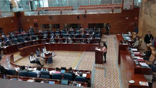 Debate en la Asamblea de Madrid sobre la Sanidad Pública