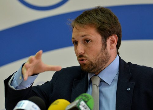 Chacón acusa al gobierno municipal de sectarismo y falta de transparencia. Foto de Ricardo Espinosa Ibeas