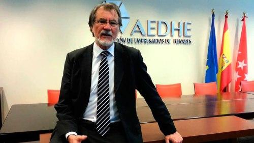 Jesús Martín, presidente de la Asociación de Empresarios del Henares