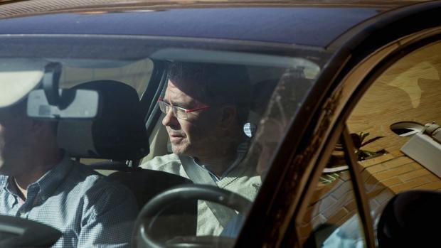 Francisco Granados, detenido por la Guardia Civil el 27 de octubre de 2014 - EFE