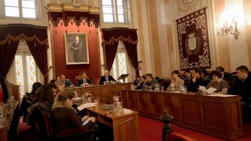 Pleno Extraordinario del 2 ds diciembre. Foto de Pedro Enrique Andarelli