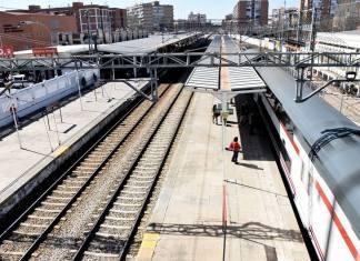 Estación de Renfe en Alcalá de Henares