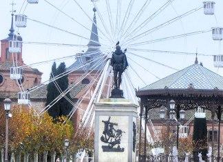 La noria de Cervantes en Navidad